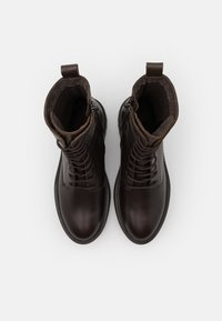Zign - Platform ankle boots - brown - 5