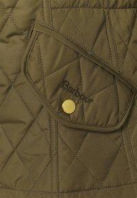 Barbour - MILLFIRE QUILT - Zimní bunda - olive/hessian - 4