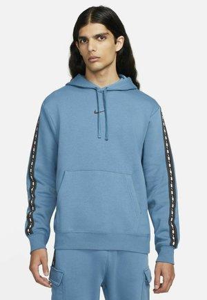 REPEAT HOODIE - Sweatshirt - rift blue