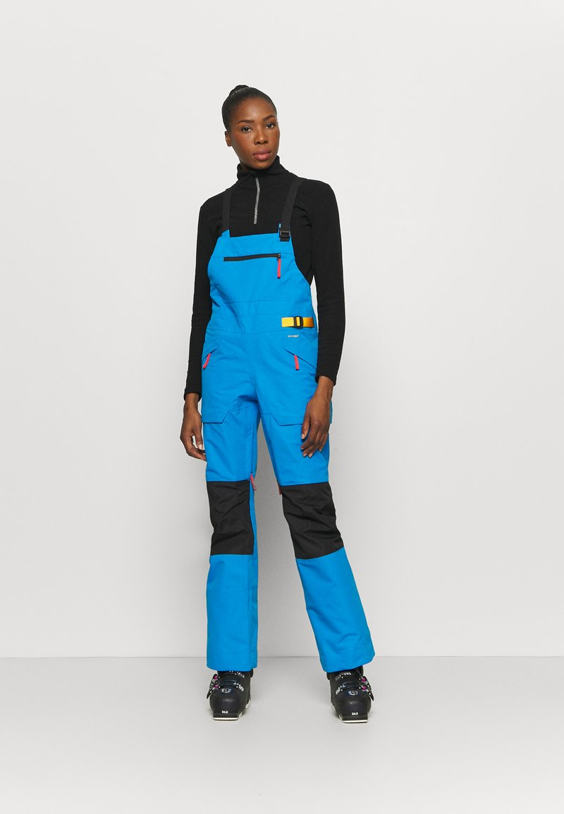 The North Face - TEAM KIT  - Snow pants - blue/yellow