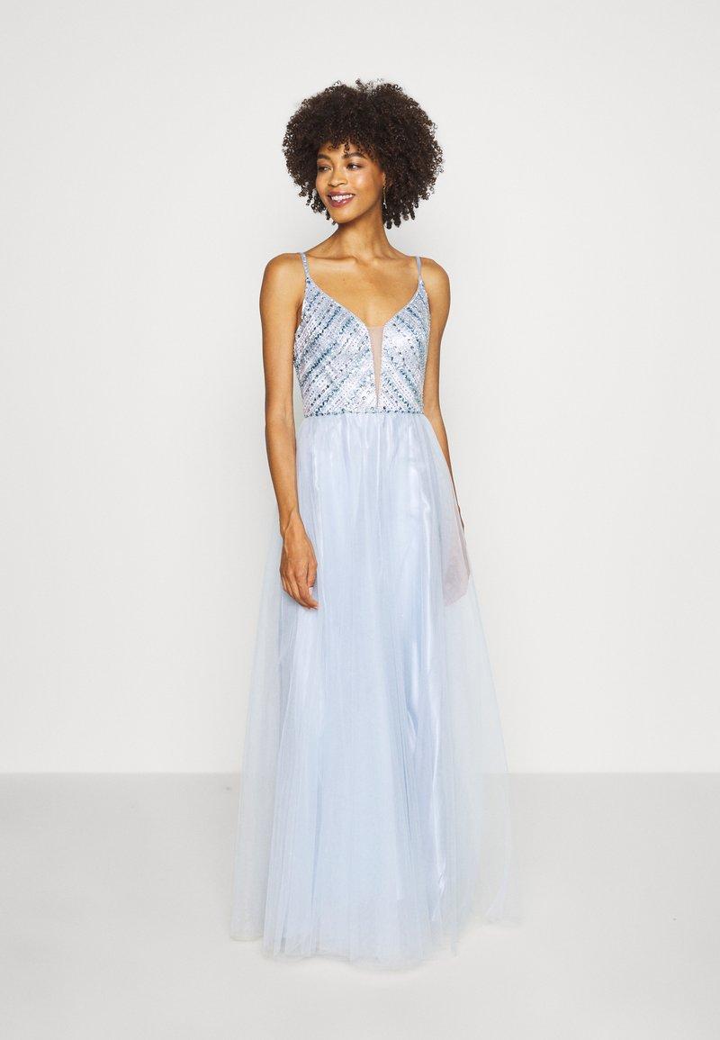Luxuar Fashion - Společenské šaty - eisblau