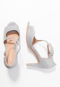 Anna Field - Sandaler med høye hæler - silver - 3