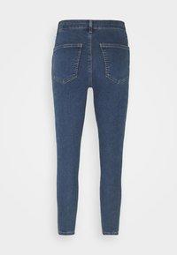 Topshop Petite - Jeans Skinny Fit - dark blue denim - 1