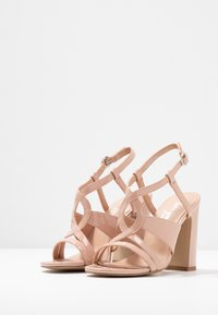 New Look - SWIRLEY - High heeled sandals - oatmeal - 4
