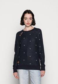 Ragwear - DARIA DOTS - Sweatshirt - navy - 0