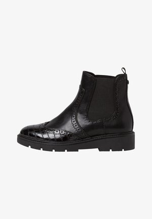 Ankle boots - black comb
