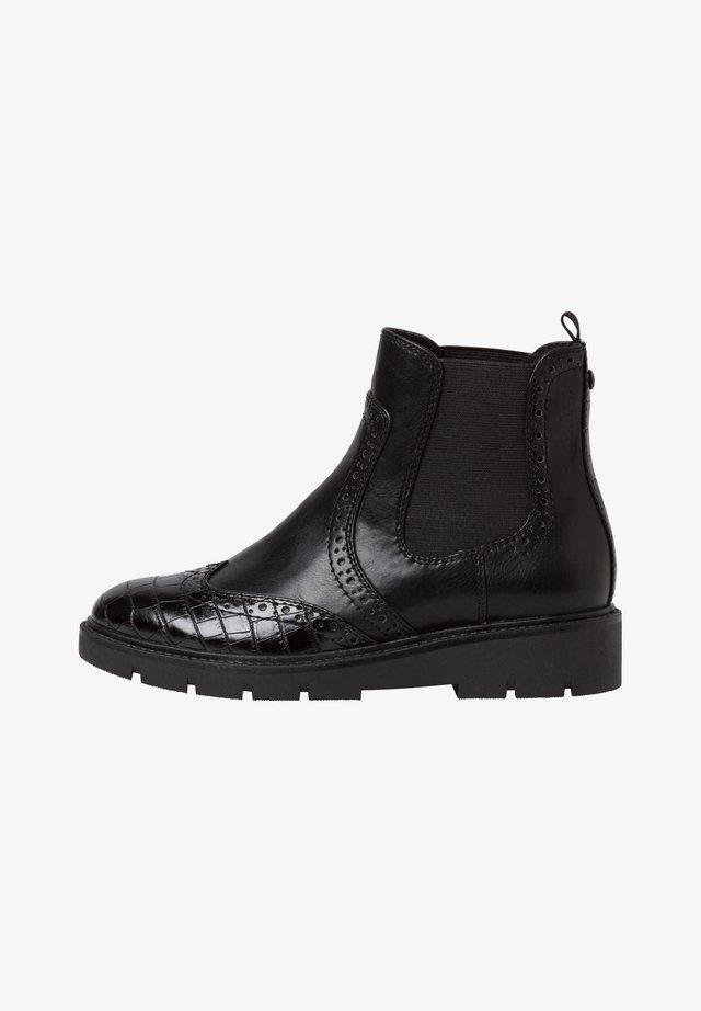 Boots à talons - black comb