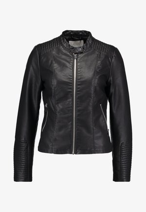 VIBLUE NEW JACKET - Faux leather jacket - black