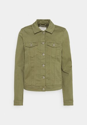 RIDERS  - Denim jacket - dark olive
