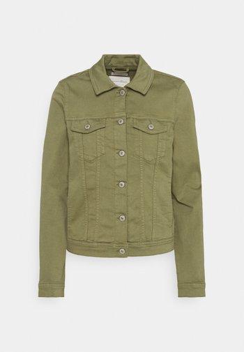 RIDERS  - Denim jacket - dark olive