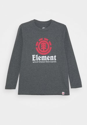 VERTICAL BOY - Long sleeved top - charcoal heather