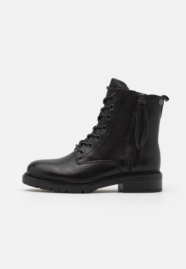 LADIES BOOTS  - Stivaletti stringati - black