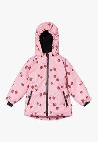 Småfolk - WINTER GIRL APPLE - Winter jacket - sea pink - 0