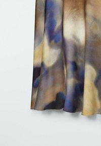 Massimo Dutti - A-line skirt - dark blue - 4