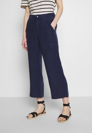 Trousers - dark steel