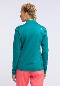 PYUA - APPEAL - Fleece jacket - petrol blue - 2