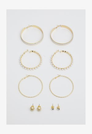 ONLMATHILDEEARRING 5 PACK - Earrings - gold-coloured