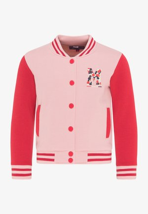 Cardigan - rosa rot