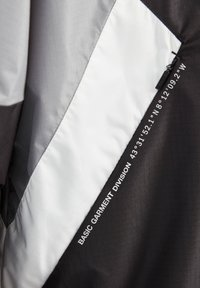 PULL&BEAR - Waterproof jacket - black - 5