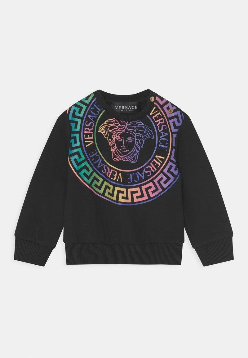Versace - MEDUSA UNISEX - Sweatshirt - nero/multicolor