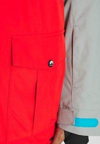 OOSC - FRESH POW JACKET - Lyžařská bunda -  white/red/black/grey - 11