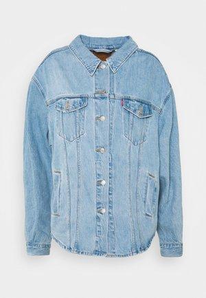 PL SHACKET - Denim jacket - pull up