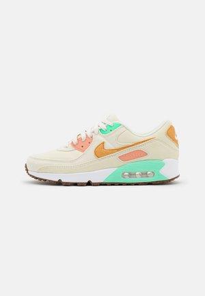 AIR MAX 90 - Sneaker low - coconut milk/mtallic gold/green glow/light bone/apricot agate/lime glow