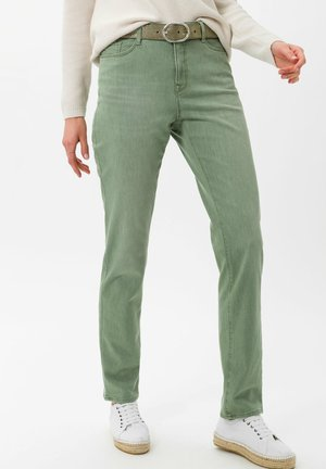 STYLE MARY - Slim fit jeans - used mint green