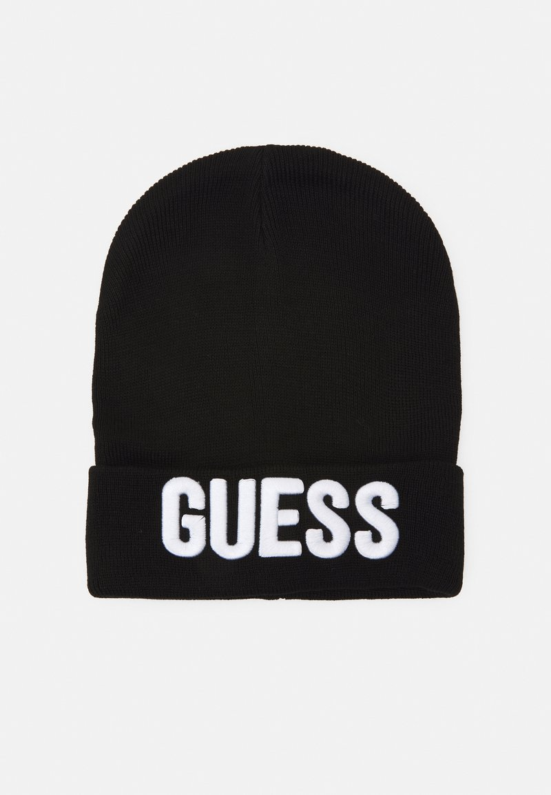 Guess - HAT WITH LOGO UNISEX - Čepice - jet black