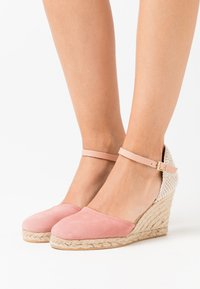 Anna Field - LEATHER  - High heeled sandals - nude - 0