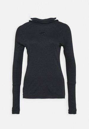RULLE HOOD - Maglietta a manica lunga - marin