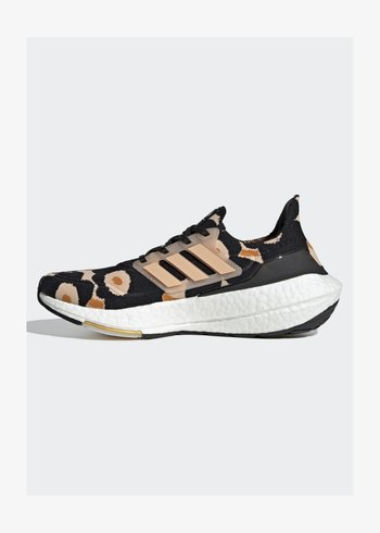ULTRABOOST - Neutral running shoes - core black/halo blush/gold met.