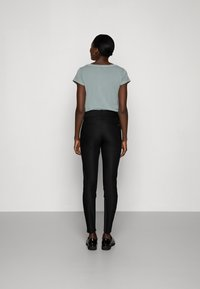Mos Mosh - BLAKE NIGHT PANT SUSTAINABLE - Pantalones chinos - black - 3
