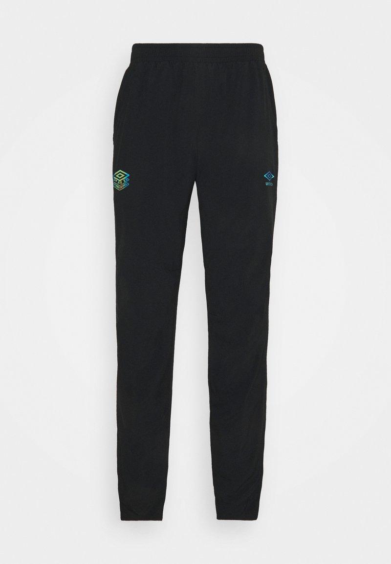 Umbro - PRO TRAINING PANT - Tracksuit bottoms - black/carbon
