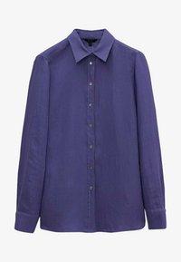 Massimo Dutti - Skjortebluser - blue - 0