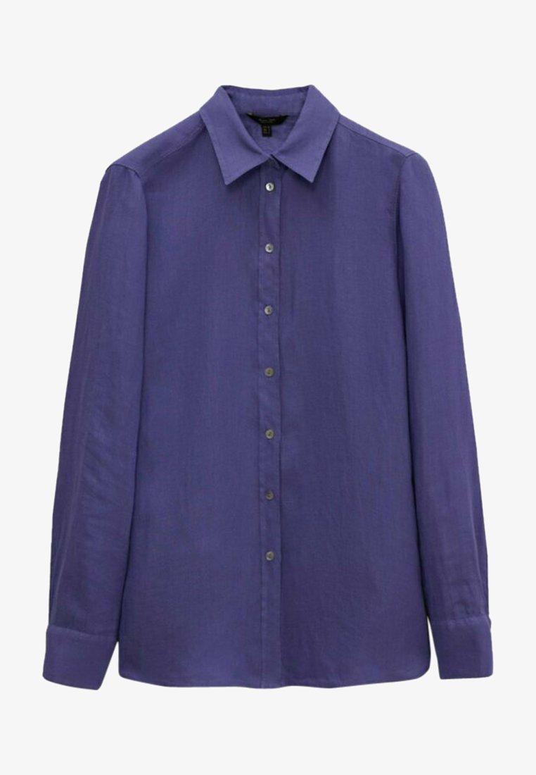 Massimo Dutti - Skjortebluser - blue