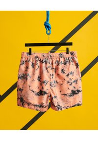 Superdry - Swimming shorts - coral tie dye - 1