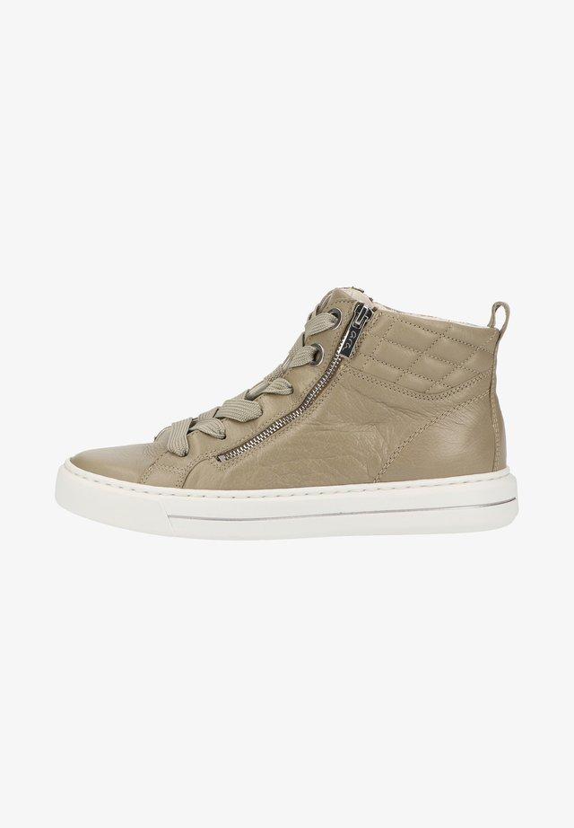 Sneakers hoog - pistazie