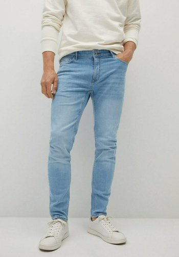 Jeans slim fit - hellblau