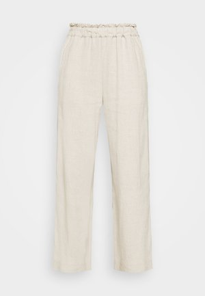 PULL ON - Trousers - flax
