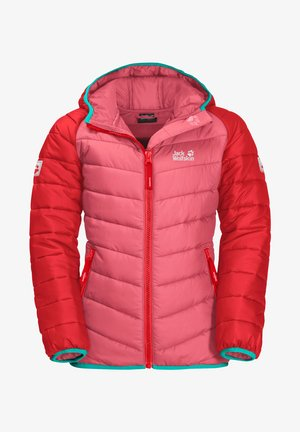 Winter coat - coral pink