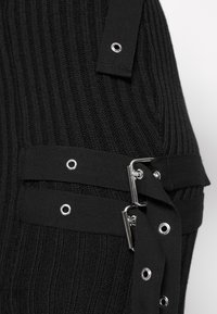 The Ragged Priest - SKIRT BUCKLE STRAP DETAIL - Mini skirt - black - 6