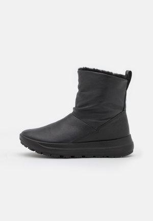 SOLICE - Vinterstøvler - black