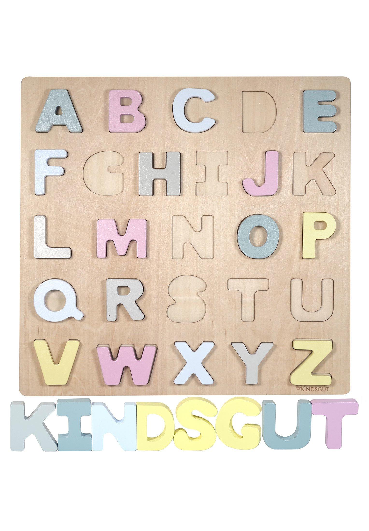 Kinder ABC-PUZZLE - Holzspielzeug