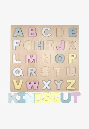 ABC-PUZZLE - Wooden toy - hanna