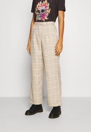 TROUSER - Trousers - beige