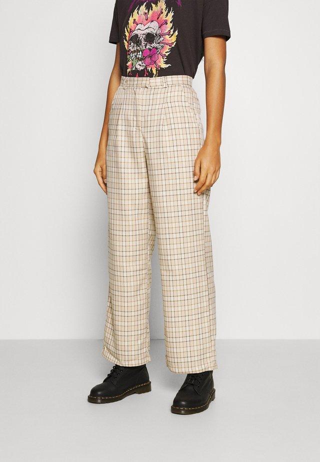 TROUSER - Pantalon classique - beige