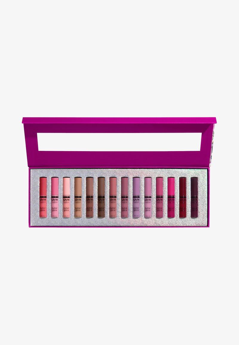 Nyx Professional Makeup - BUTTER GLOSS LIP VAULT - Lip palette - -
