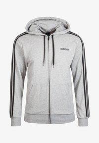 adidas Performance - Tröja med dragkedja - grey - 0