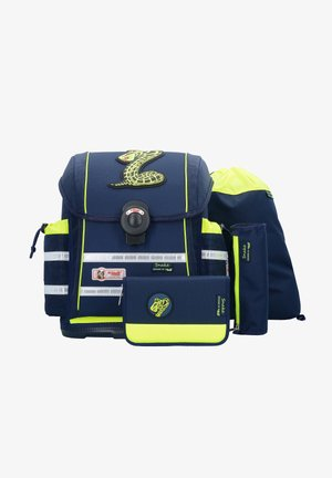 ERGO LIGHT-SET 4TLG. - School bag - snake